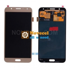 LCD Screen Display with Digitizer Touch Panel for  Galaxy J7 J700/ J700F - Gold