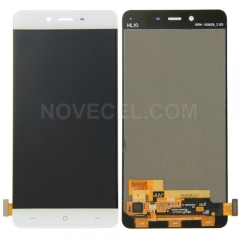 LCD Screen + Touch Screen Digitizer Assembly for OnePlus X(White)