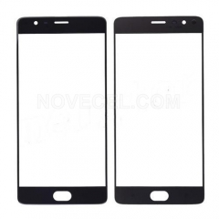 Front Screen Glass Lens for OnePlus 3 A3000/ A3003 - Black