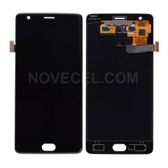 LCD Screen Display with Digitizer Touch Panel for OnePlus 3 A3000/ A3003 - Black