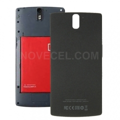 NFC Back Housing Cover Replacement for Oneplus One(Black)
