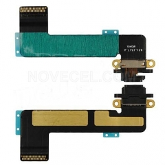 Charging Port with Flex Cable for iPad mini-Black