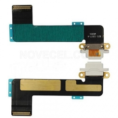Charging Port with Flex Cable for iPad mini-White