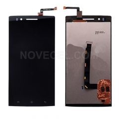 LCD Screen + Touch Screen Digitizer Assembly for OPPO X909 Find 5(Black)