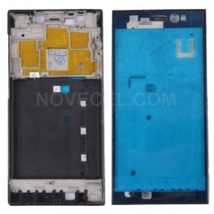 Xiaomi Mi 3 (China Telecom Version) Front Housing LCD Frame Bezel(Black)
