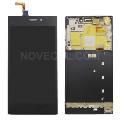 Xiaomi Mi 3 (WCDMA Version) LCD Screen + Touch Screen Digitizer Assembly with Frame(Black)