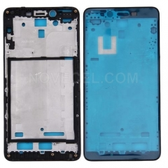Xiaomi Redmi Note 2 Front Housing LCD Frame Bezel(Black)