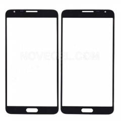 A+ Front Glass for Galaxy Note 3 Neo N750-High Quality/Black