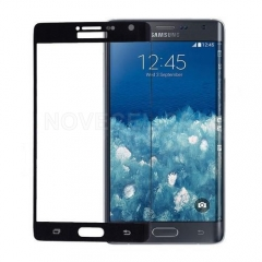Front Screen Glass Lens for Galaxy Note Edge N915-Black