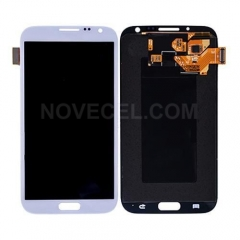 LCD with Touch Screen Digitizer for Galaxy Note 2 N7100- White