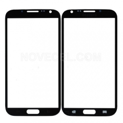 A+ Front Glass Lens for Galaxy Note 2 N7100 - High Quality/Gray