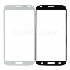 A+ Front Glass Lens for Galaxy Note 2 N7100 - High Quality/White