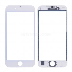 (Super High Quality) Front Screen Glass Lens + LCD Digitizer Frame + OCA  for iPhone 6s(4.7 inches) - White