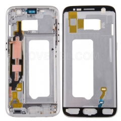 Middle Frame Bezel for Samsung Galaxy S7 / G930 (Silver)