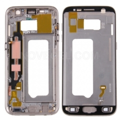 Middle Frame Bezel for Samsung Galaxy S7 / G930 (Gold)