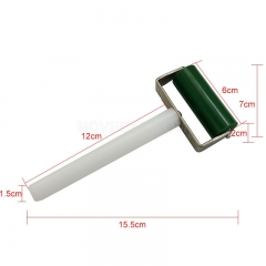 2 inichs (5.8*φ2.3cm) Manual Silicone Roller for applying OCA and polarisor-Green