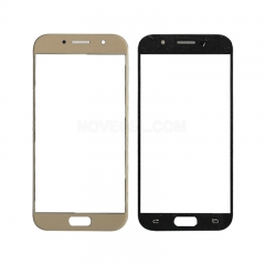 A+ For Galaxy A5 (2017) / A520 Front Screen Outer Glass Lens-High Quality(Gold)
