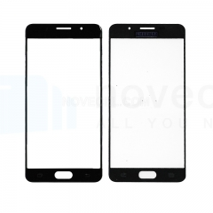 For Galaxy A5 (2016) / A510 Front Screen Outer Glass Lens-Generic(Black)