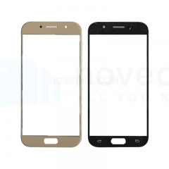 For Galaxy A5 (2017) / A520 Front Screen Outer Glass Lens-Generic(Gold)
