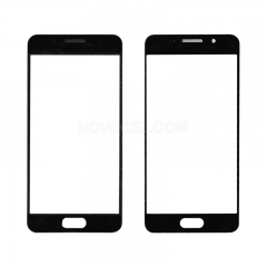 For Galaxy A3(2016) / A310 Front Screen Outer Glass Lens-Generic(Black )