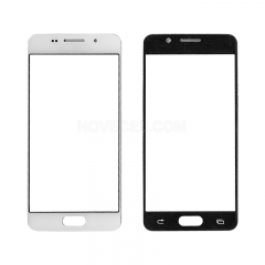 For Galaxy A3(2016) / A310 Front Screen Outer Glass Lens-Generic(White)