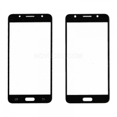 A+ For Galaxy J5 (2016) J510 Front Outer Screen Glass Lens-High Quality(Black)