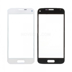 A+For Galaxy S5mini/G800 Front Screen Outer Glass Lens-High Quality/White