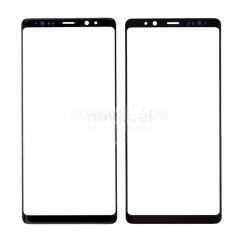 A+ Front Screen Glass Lens for Samsung Galaxy Note 8 N950-High Quality/Black