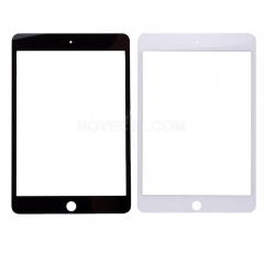 Front Glass Lens For iPad Mini 4-White