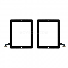 A Touch Screen Digitizer for iPad 2(Generic Quality) - Black