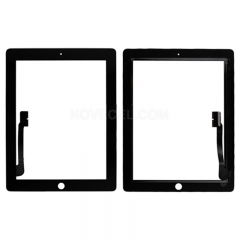 A Touch Screen Digitizer for iPad 3/ iPad 4 (Generic Quality) - Black