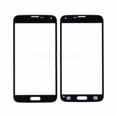 A+ For Galaxy S5/G900 Front Screen Outer Glass Lens High Quality/(Black)