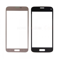 For Galaxy S5 NEO G903 Front Screen Outer Glass Lens -Gold