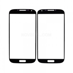 A+ Front Glass Screen Lens Replacement for Galaxy S4 i9500 - High Quality/Black