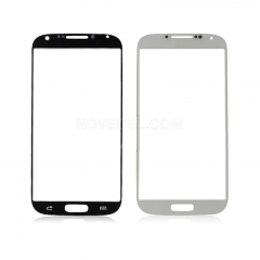 A+Front Glass Screen Lens Replacement for Galaxy S4 i9500 -High Quality/White