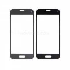 For Galaxy S5 NEO G903 Front Screen Outer Glass Lens -Grey