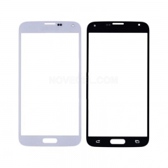 A+For Galaxy S5/G900 Front Screen Outer Glass Lens High Quality/(White)