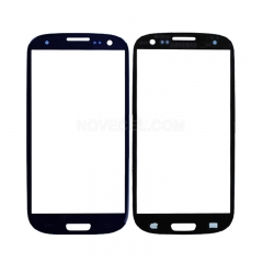 A+ Front Glass Lens Screen Cover for i9300 Galaxy S III S3 -High Quality/Blue
