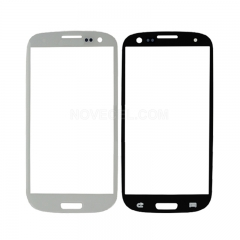 A+Front Outer Lens Glass Screen for i9300 Galaxy S III S3 - High Quality/White