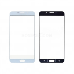A+ Front Screen Glass Lens for Galaxy A9 High Quality White