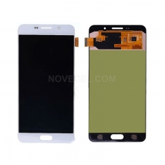 for Galaxy A7 (2016) / A710F LCD Display + Touch Screen Digitizer Assembly(White)
