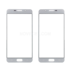 For Galaxy A7(2016) A710 Front Screen Outer Glass Lens-Generic(White)