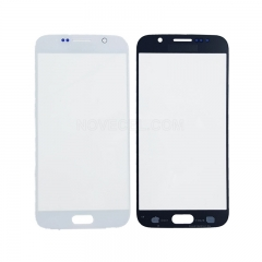 A+ Front Screen Glass Lens for Samsung Galaxy S6 G920-High Quality/White Pearl