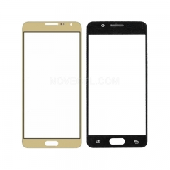 For Galaxy A3(2016) / A310 Front Screen Outer Glass Lens-Generic(Gold)