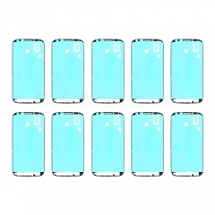 10PCS Front Housing Frame Bezel Plate Adhesive Sticker for Galaxy S 4  i9500