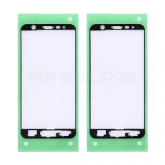 10 Pcs Front Housing Frame Adhesive Sticker for Galaxy J7 Prime / On7 (2016)