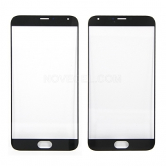 Front Glass For Meizu MX5 - Black