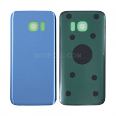 A+ Back Cover Battery Door for Samsung Galaxy S7 /G930 (High Quality)-Coral Blue