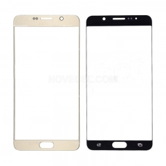 Front Screen Glass for Galaxy Note 5 N920(Ori Quality) - Gold Platinum