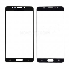 Front Screen Glass for Galaxy Note 5 N920(Ori Quality) - Black Sapphire